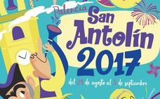 Programa de fiestas de San Antolín en Palencia 2017. Lunes, 28, martes 29 y miércoles 30