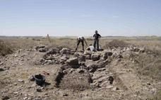 Hallada la muralla más antigua del norte peninsular en Peñafiel