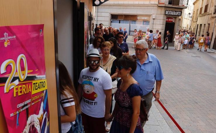 Segunda jornada de la Feria de Teatro de Ciudad Rodrigo