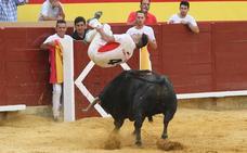 Así fue el escalofriante salto que dio el triunfo a 'Use' en Palencia