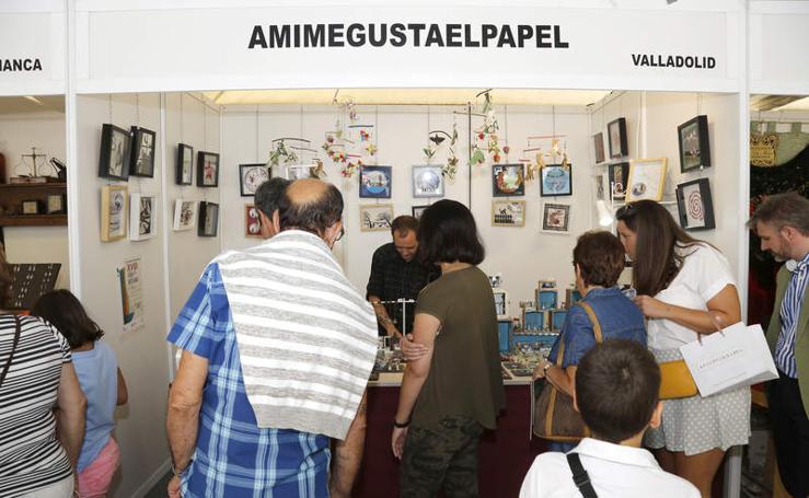Inauguración de la Feria de Artesanía de Palencia