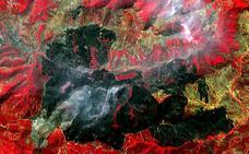 El fuego de La Cabrera afecta a 10.020 hectáreas