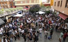 Los bares de la zona del Seminario, de fiesta diurna