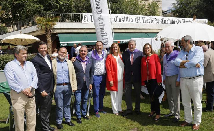 Caseta de El Norte de Castilla en las fiestas de San Antolín de Palencia