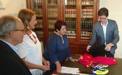 Las botas de Messi, Zidane y Bolt se exhibirán en el Torreón de Lozoya