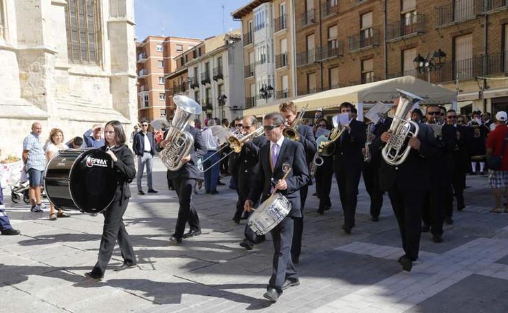 Celebración de San Antolín en Palencia