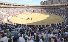 Castella, Perera y Román, en la feria taurina de Valladolid