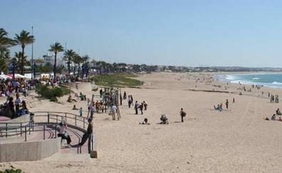 Fallece una segoviana en la playa de Chiclana