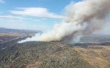 Baja peligro del incendio de Fermoselle y se restablece el fluido eléctrico