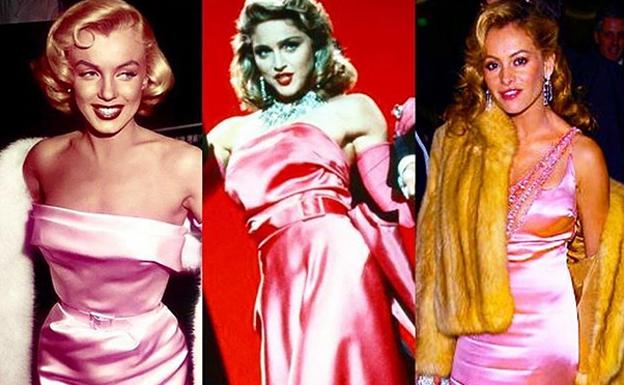 Instagram no perdona la comparación de Paulina Rubio con Marilyn y Madonna