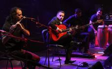 Conjunción de guitarra y flauta, por Raúl Olivar e Iván Carlón