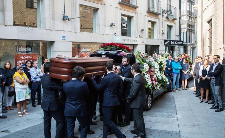 Último adiós al exvicepresidente de la Junta, Tomás Villanueva