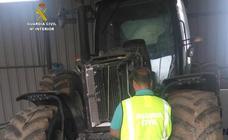 Dos detenidos en El Bierzo por intentar vender un tractor robado en Valladolid