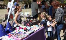 Tariego atrae a numerosos visitantes en el Mercado Castellano