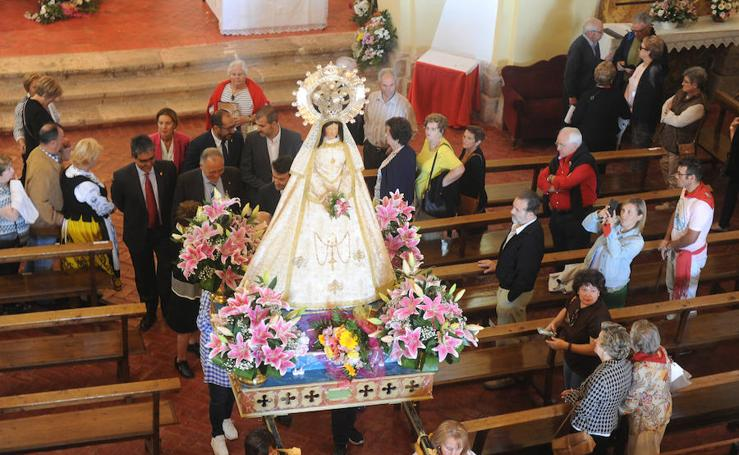 Procesión de la Virgen de la Peña en Tordesillas