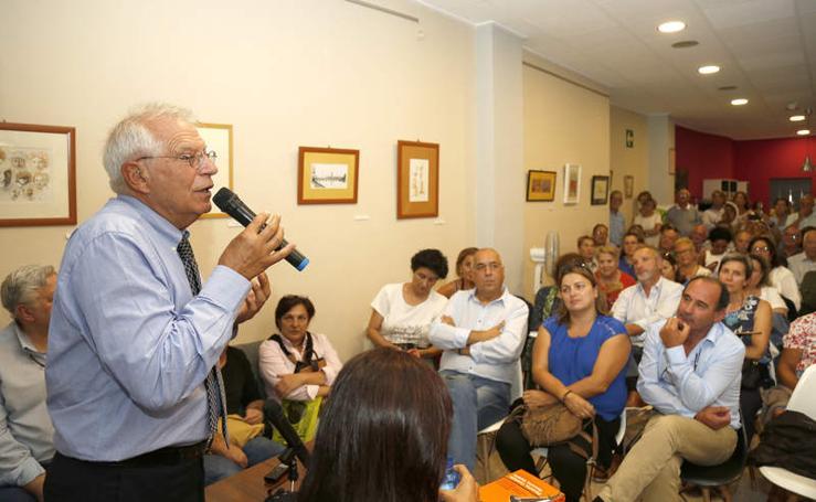Josep Borrell visita Palencia
