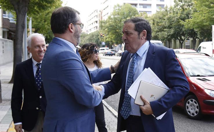 Visita del consejero de Sanidad a Palencia