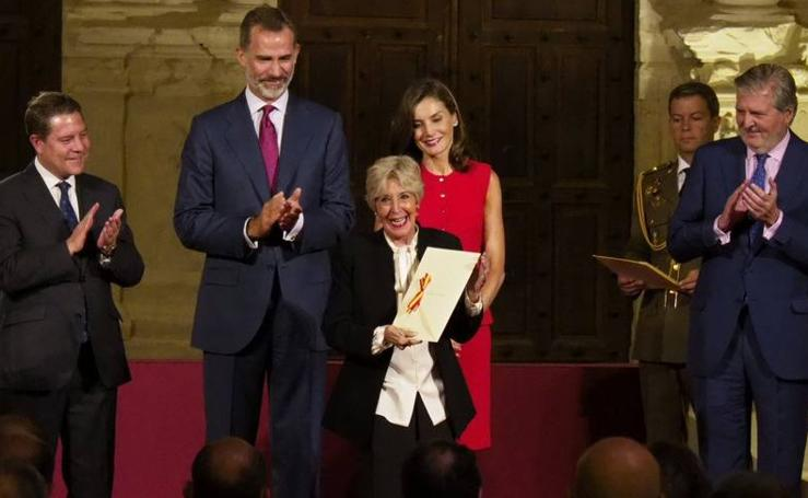 Concha Velasco recibe el Premio Nacional de Cultura 2016