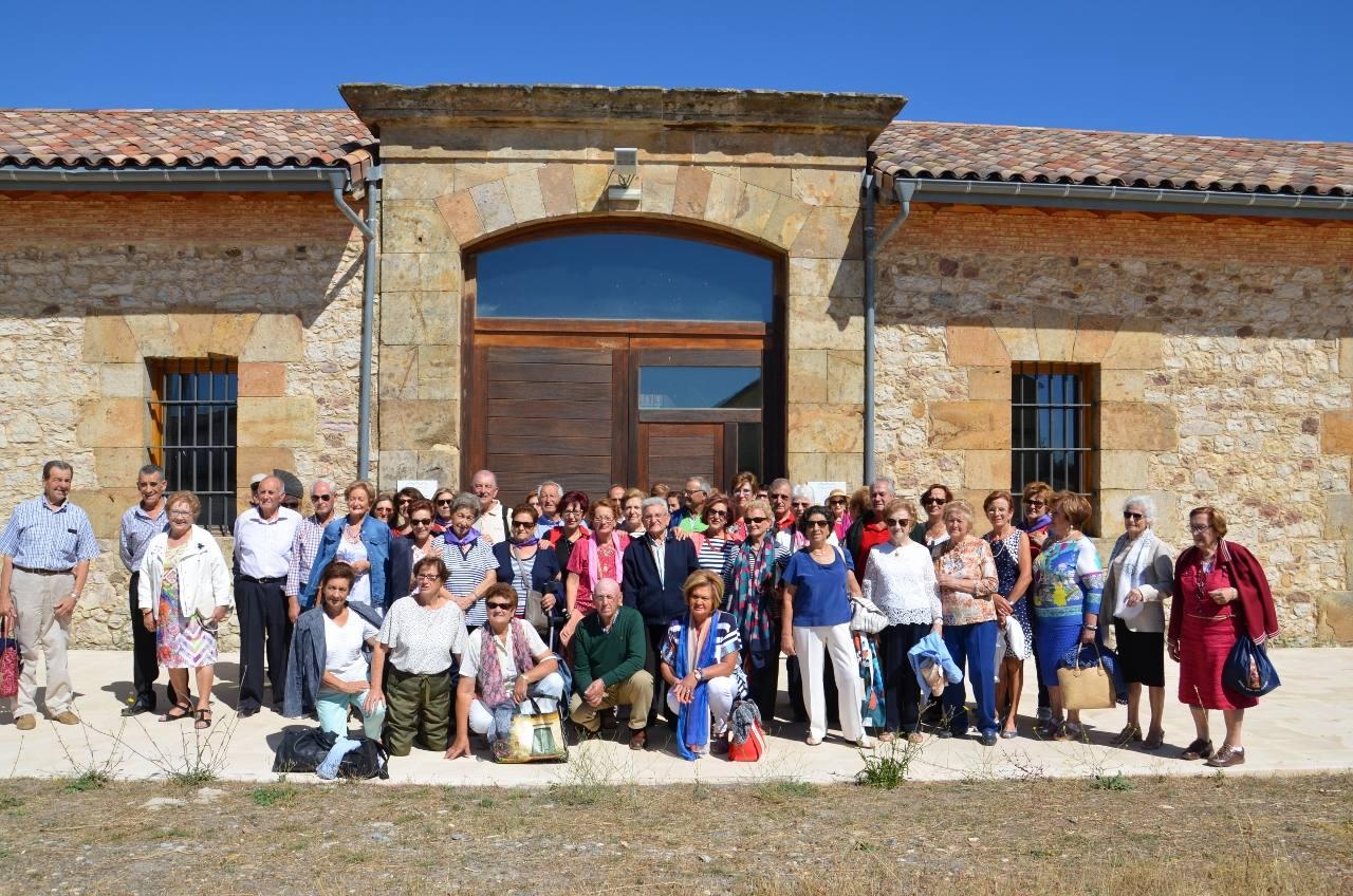 Encuentro de jubilados en Alar del Rey (Palencia)