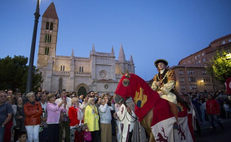 Valladolid recrea la entrada de Carlos V en la ciudad