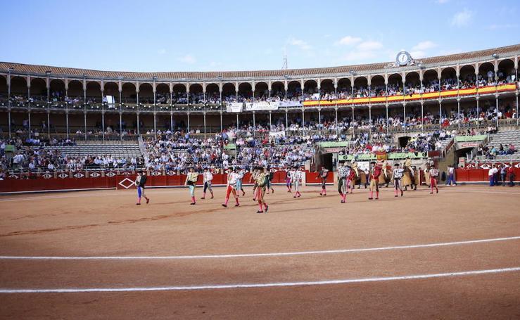 Corrida Charra en la plaza de La Glorieta de Salamanca