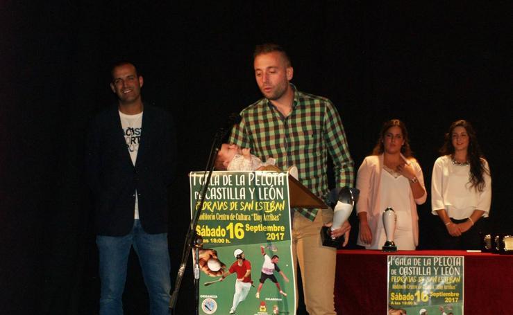 Gala de la pelota de Castilla y León