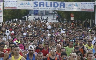 La XXIX Media Maratón inundará Valladolid de atletas
