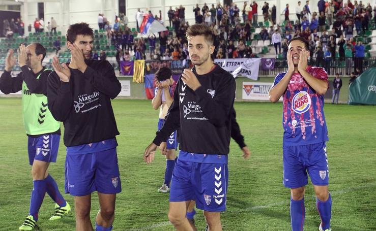 La Segoviana cae eliminada de la Copa del Rey frente a la Ponferradina (0-1)