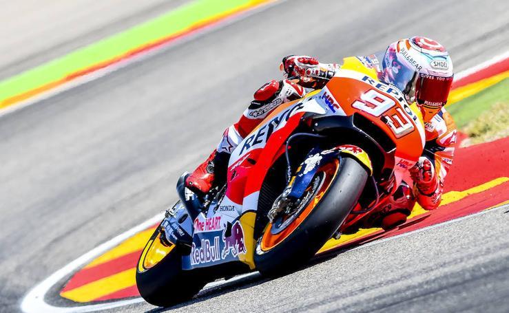 Las mejores imágenes del GP de Aragón