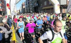 Con la vista puesta en la meta de la Media Maratón El Norte