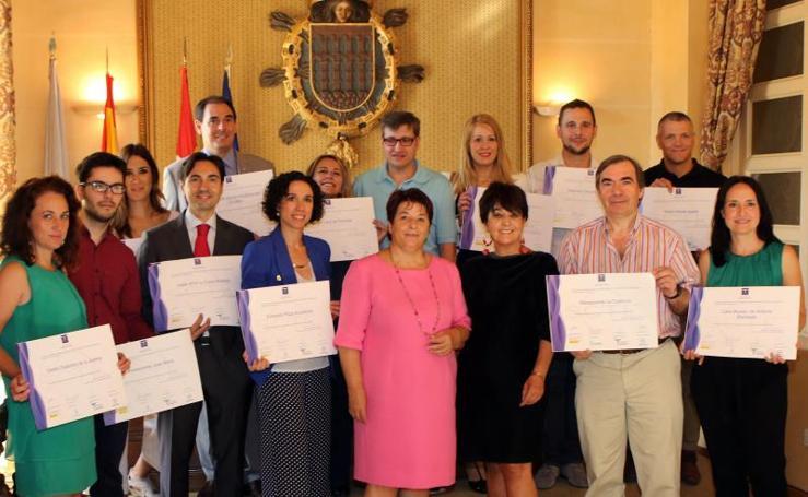 Entrega de diplomas de calidad turistica SICTED