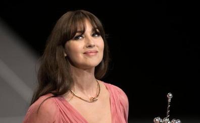 Bellucci: «Estoy emocionada por recibir el Premio Donostia»