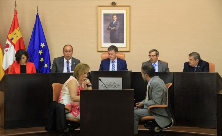 Pleno de la Diputación de Segovia