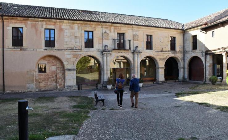 Inauguración del nuevo sistema de visitas guiadas interactivas en el monasterio de San Andrés de Arroyo