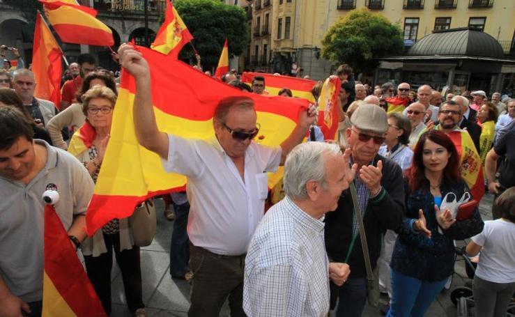 Concentración en Segovia por la unidad de España