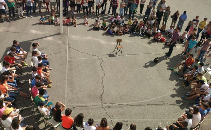 Actividades organizadas por el colegio San Francisco de Asís de Valladolid durante con motivo de la participación en el proyecto europeo Erasmus Plus