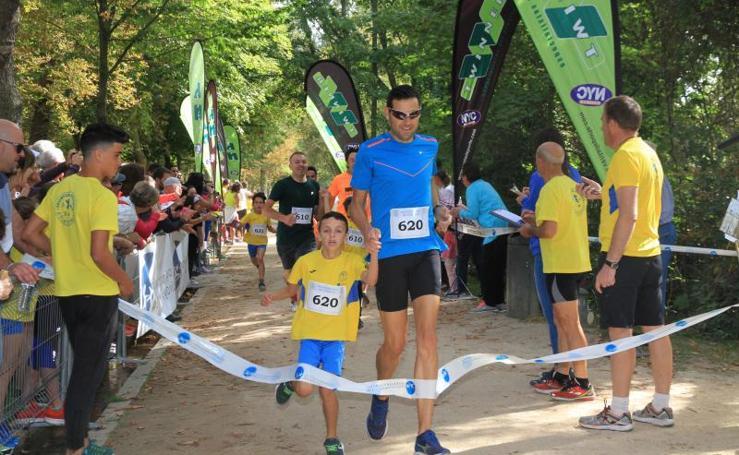 Carrera Correr en Familia del Sporting Segovia