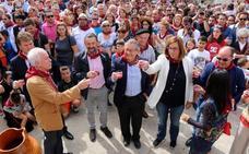 Valdecañas de Cerrato deja su huella en la Fiesta de la Vendimia del Arlanza