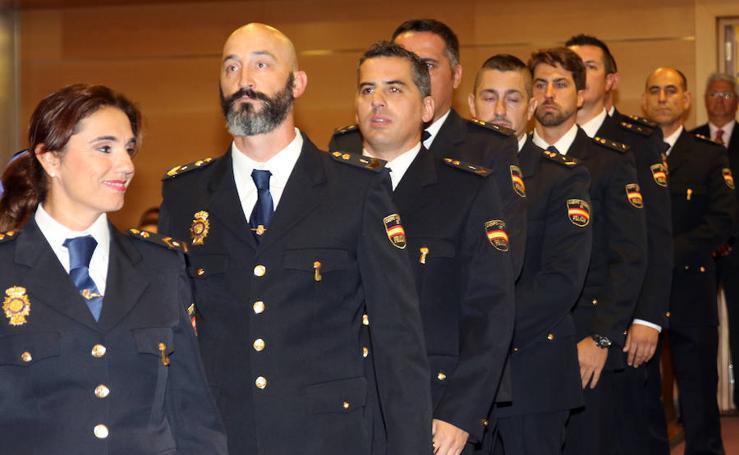 Celebración del Día de la Policía en Segovia