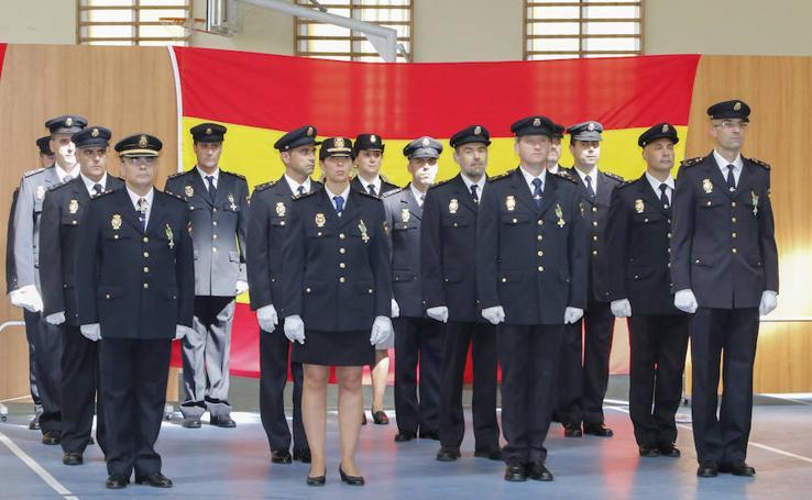 Salamanca celebra el Día de la Policía Nacional