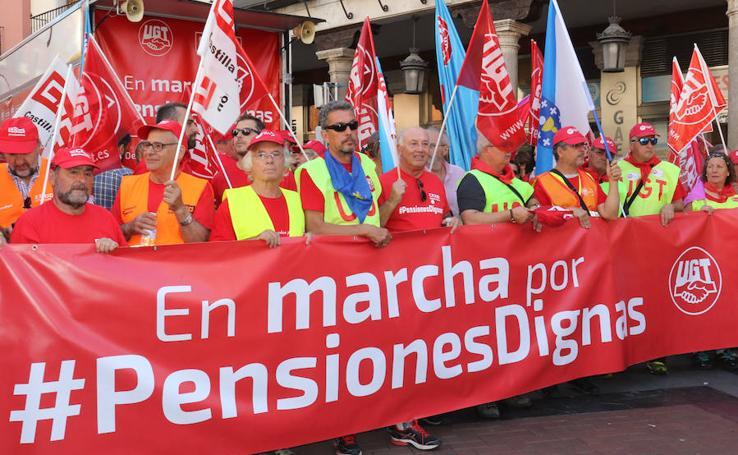La marcha por las pensiones llega a Valladolid