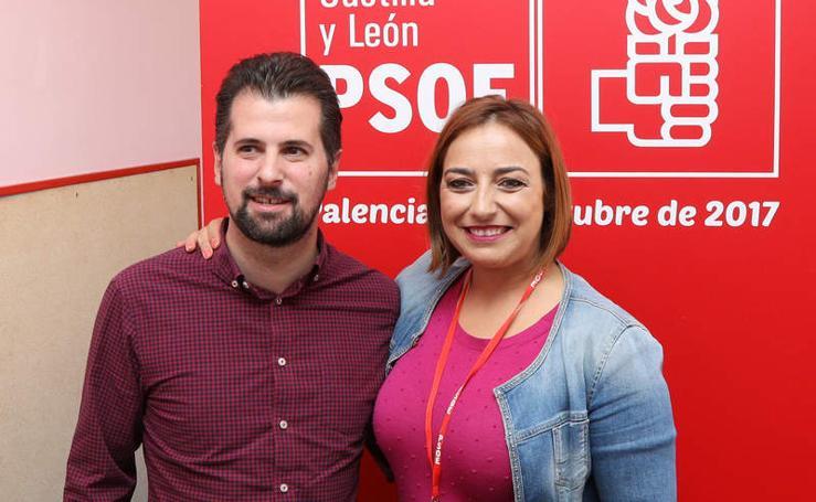 XIII Congreso del PSOE en el salon de actos del colegio público Tello Tellez de Palencia
