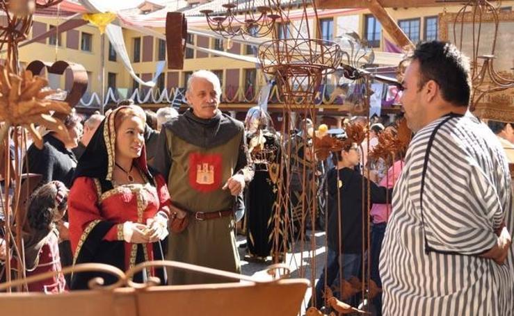 Mercado medieval en Tordesillas