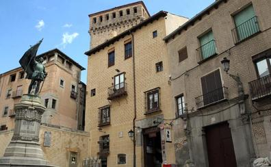 Un palacio en pleno centro de Segovia