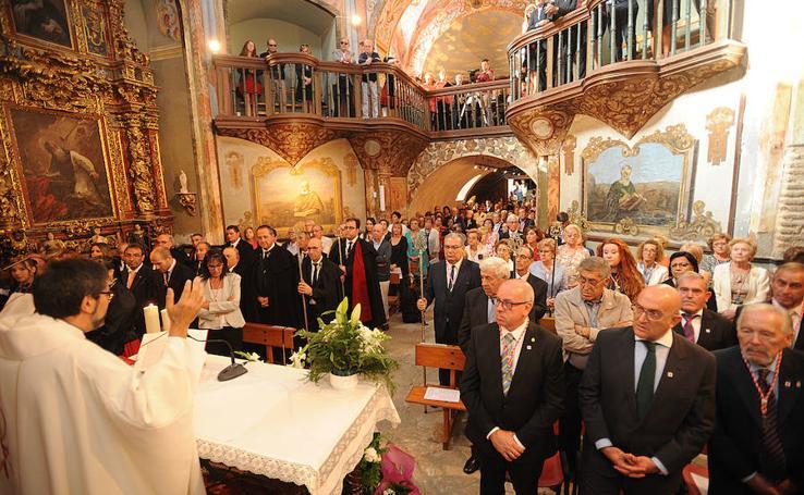 Misa en honor a la Virgen de la Soterraña en Olmedo