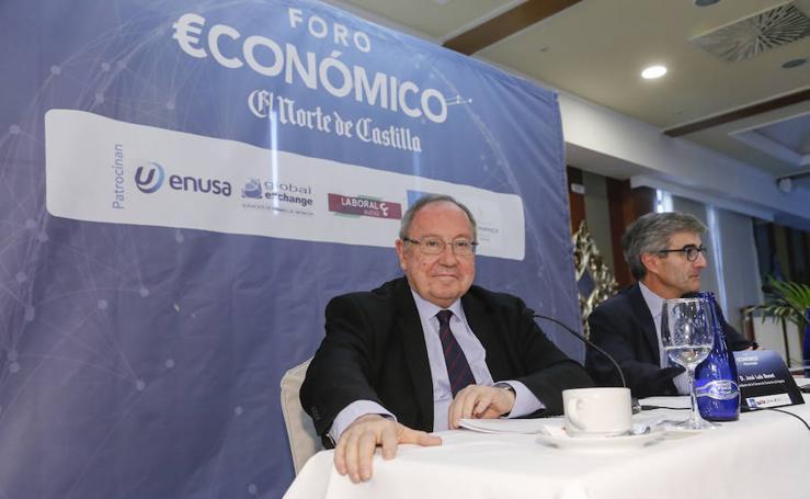 El presidente de Freixenet, en el Foro Económico de El Norte de Castilla en Salamanca