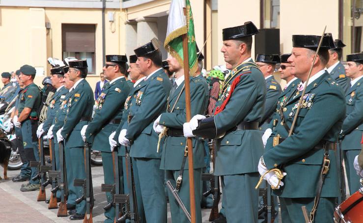 Desfiles de la Guardia Civil en Segovia