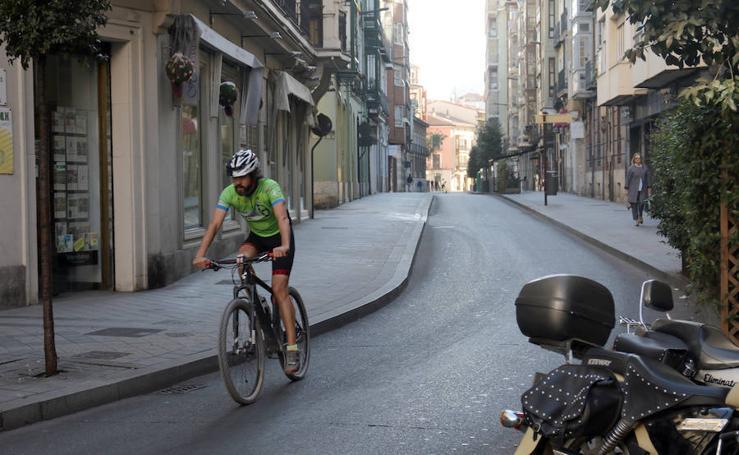Valladolid cierra al tráfico el centro de la ciudad