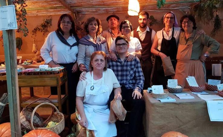 la XI Feria de los Oficios Aldeanueva en Villanueva de Duero