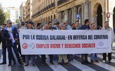 La seguridad privada hará huelga si la patronal no aumenta los salarios